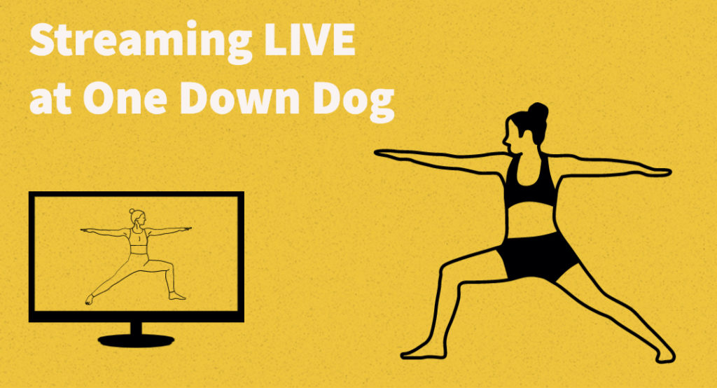 streaming at home yoga classes